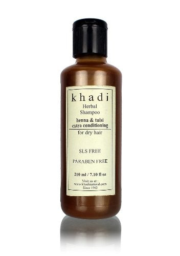 Khadi Henna &Tulsi Extra Conditioning 210Ml