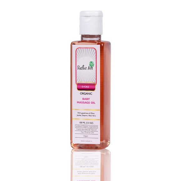 Rustic Art Baby Massage Oil