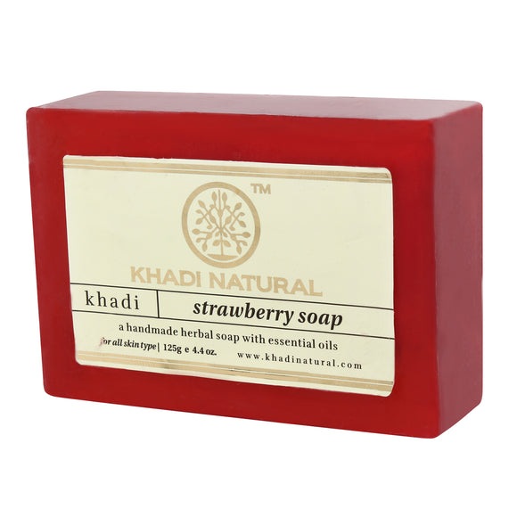 Khadi Strawberry Soap 75Gm