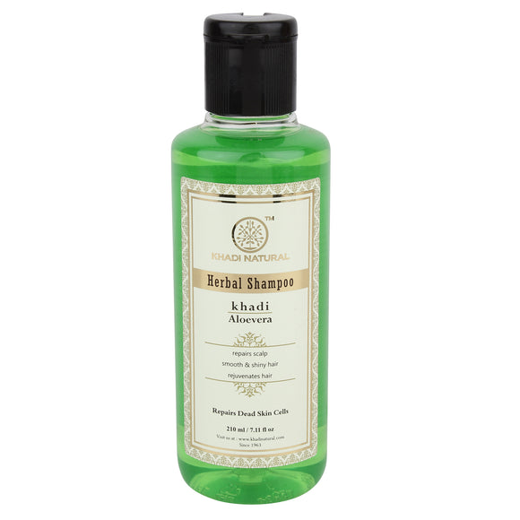 Khadi Aloevera Hair Cleanser 210Ml