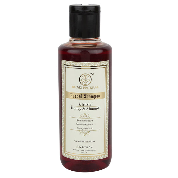 Khadi Honey & Almond Shampoo 210Ml