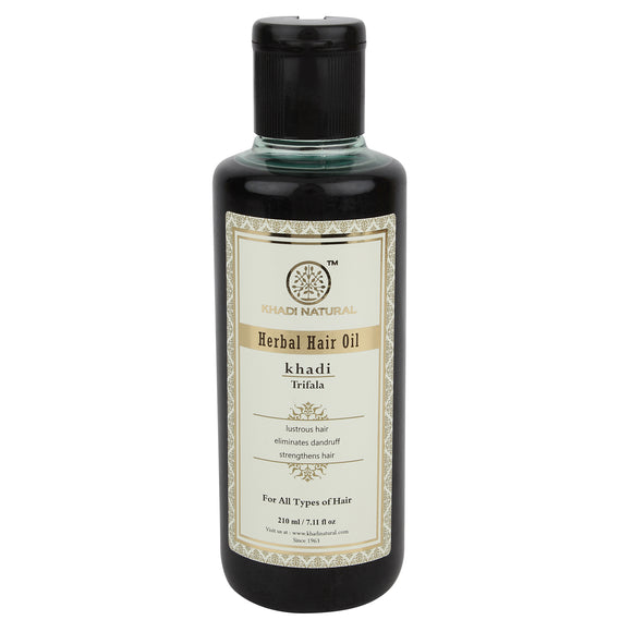 Khadi Trifala  Hair Oil 210Ml