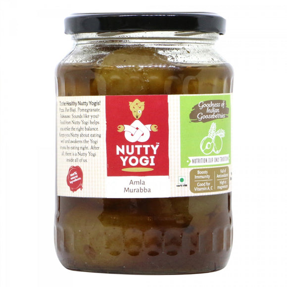 NUTTY YOGI Amla Murabba 800Gm