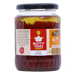 NUTTY YOGI Carrot Murabba 800Gm