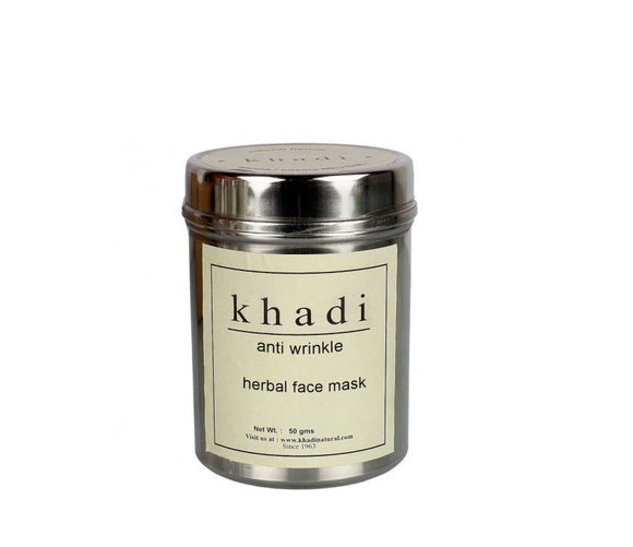 Khadi Anti Wrinkle Herbal Face Mask 50gm