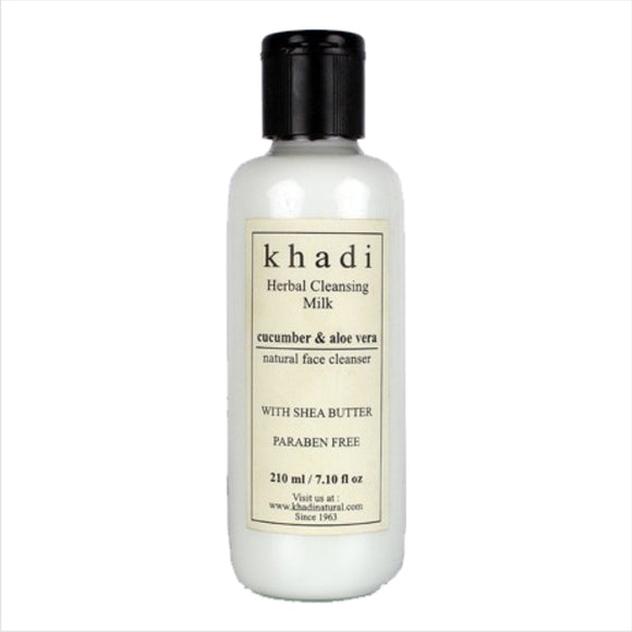Khadi Cucumber & Aloe Vera Face Cleanser 210Ml