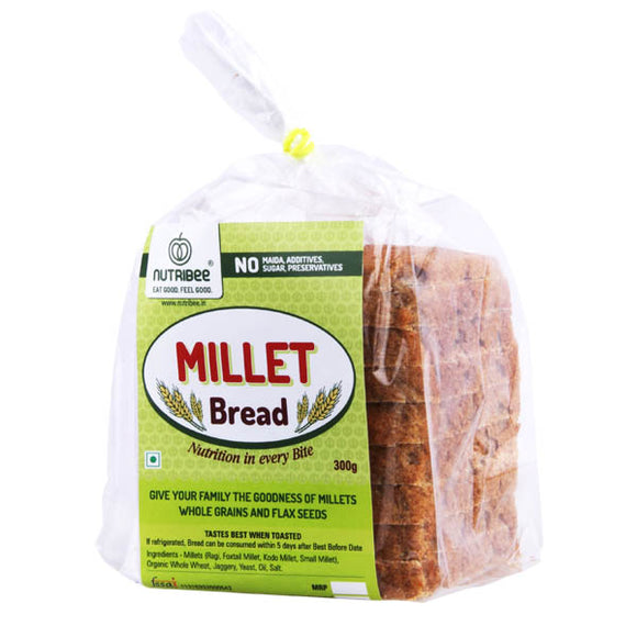 Bread Millet With Flax Seeds 300gm