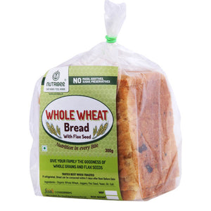 Bread Whole Wheat With Flax Seeds 300gm
