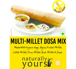 Naturally Yours Multi Millet Dosa Mix 160g