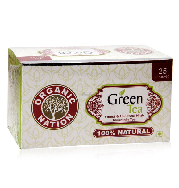 Organic Nation Green Tea