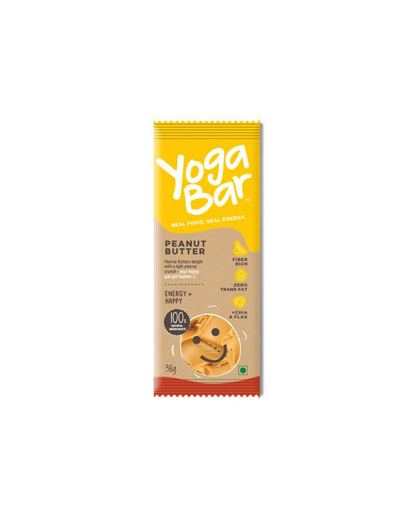 Yoga Bars Yoga Bars Peanut Butter 40gm
