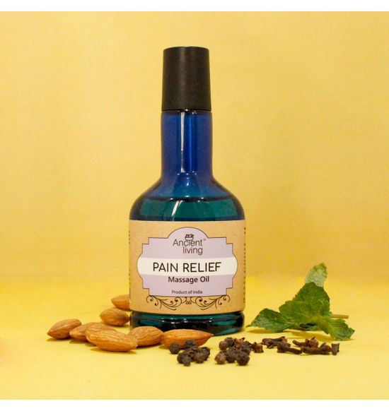 Pain Relief Massage Oil 100Ml