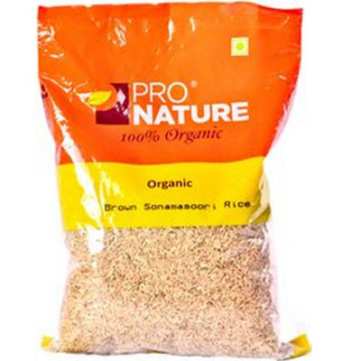 ProNature Sonamasoori Brown Rice
