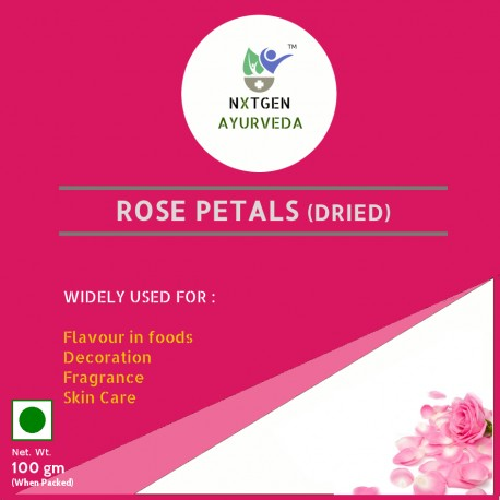Rose Petals (Dried) 100gm