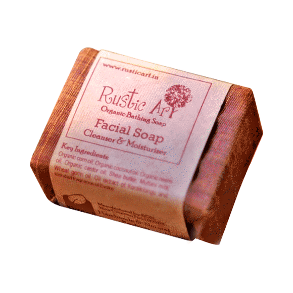 Rustic Art Facial Soap