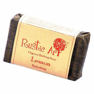 Rustic Art Lemon Soap 100gm