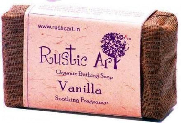 Rustic Art Vanilla Hand Made Soap