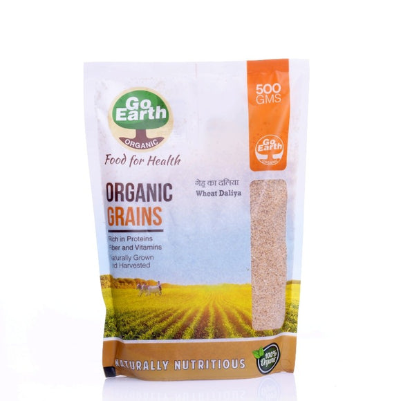 Go Earth Wheat Daliya 500gm