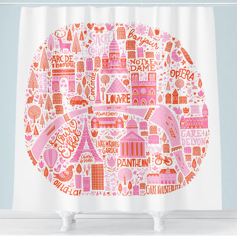 Kids Shower Curtains – Hello Sunny Day