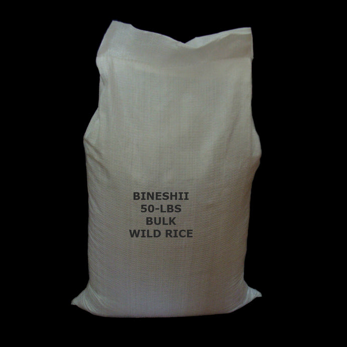 50-LBS BULK WILD RICE GOURMET, RAW EATERS, GHOST AND SOUP WILD RICE.