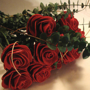 Red Roses Leather