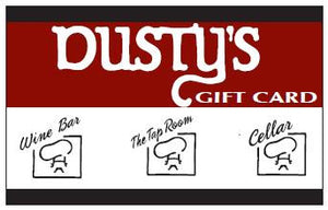 Dusty's Gift Card $150.00
