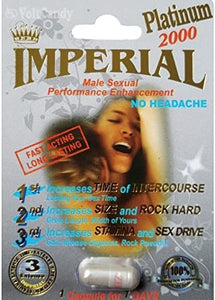 Imperial Platinum 2000 Male Sexual Performance Enhancement