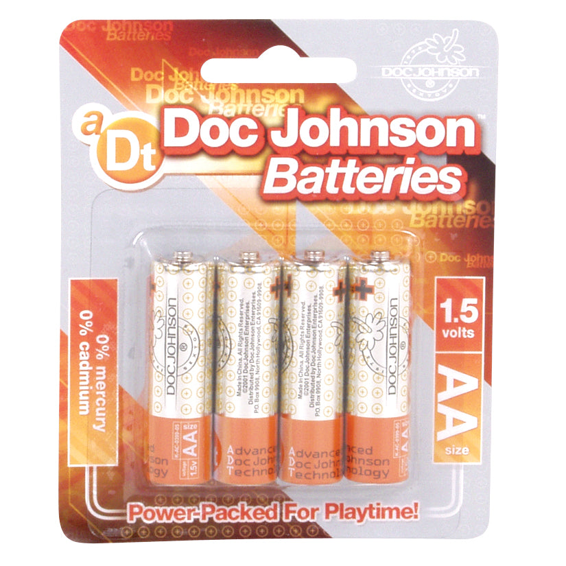 DOC JOHNSON BATTERIES AA-4PK