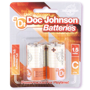DOC JOHNSON BATTERIES C-2PK