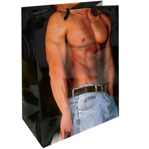 GIFT BAG-SEXY CHEST SIDE VIEW