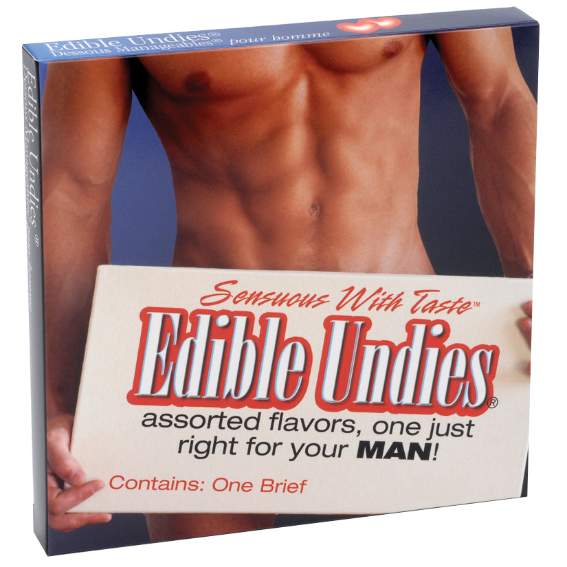 EDIBLE BRIEFS STRAWBRY/CHOC *