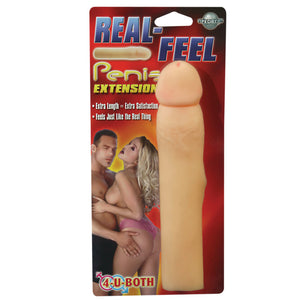 REAL FEEL PENIS EXTENTION