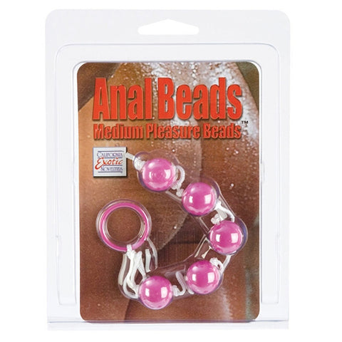 ANAL BEADS ASST. COLORS-MED
