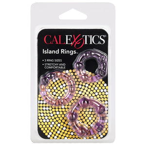 SILICONE ISLAND RING-PURPLE