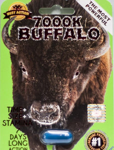 Buffalo 7000K Male Enhancement Pill