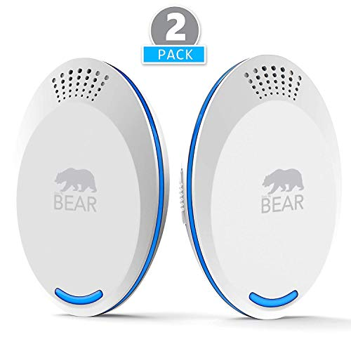 [NEW 2018 MODEL] Ultrasonic Pest Repeller White