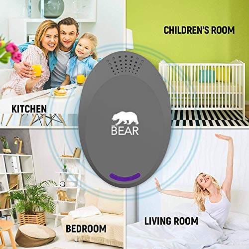 [NEW 2018 MODEL] V2.1 Ultrasonic Pest Repeller Grey
