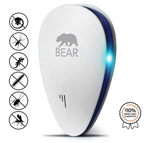 Ultrasonic Pest Repeller White 1 Pack