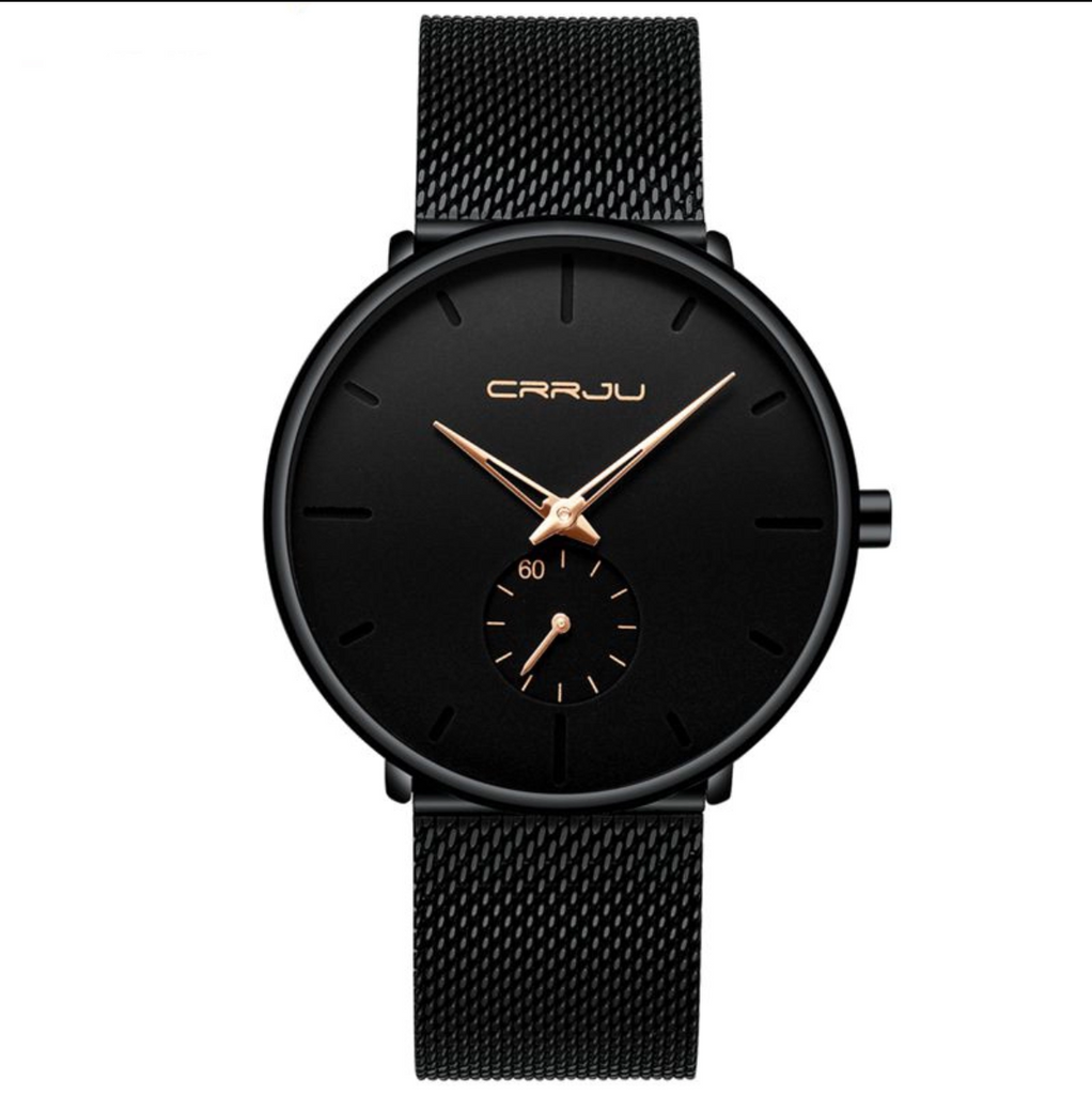 BearWATCH CRRJU Black Edition Wrist Timepiece