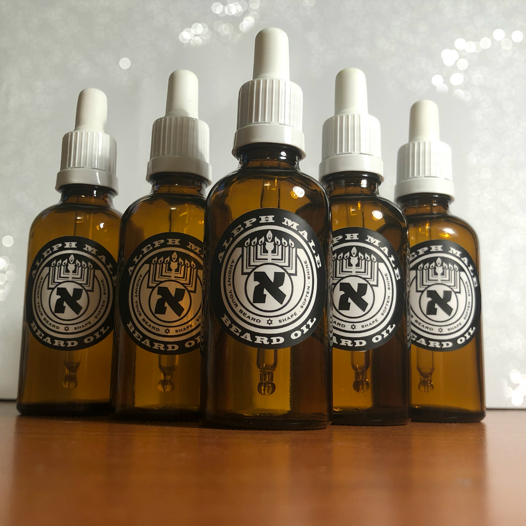 Hanukkah Beard Oil - 1.7 oz Limited Edition
