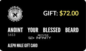 Aleph Male Gift Card