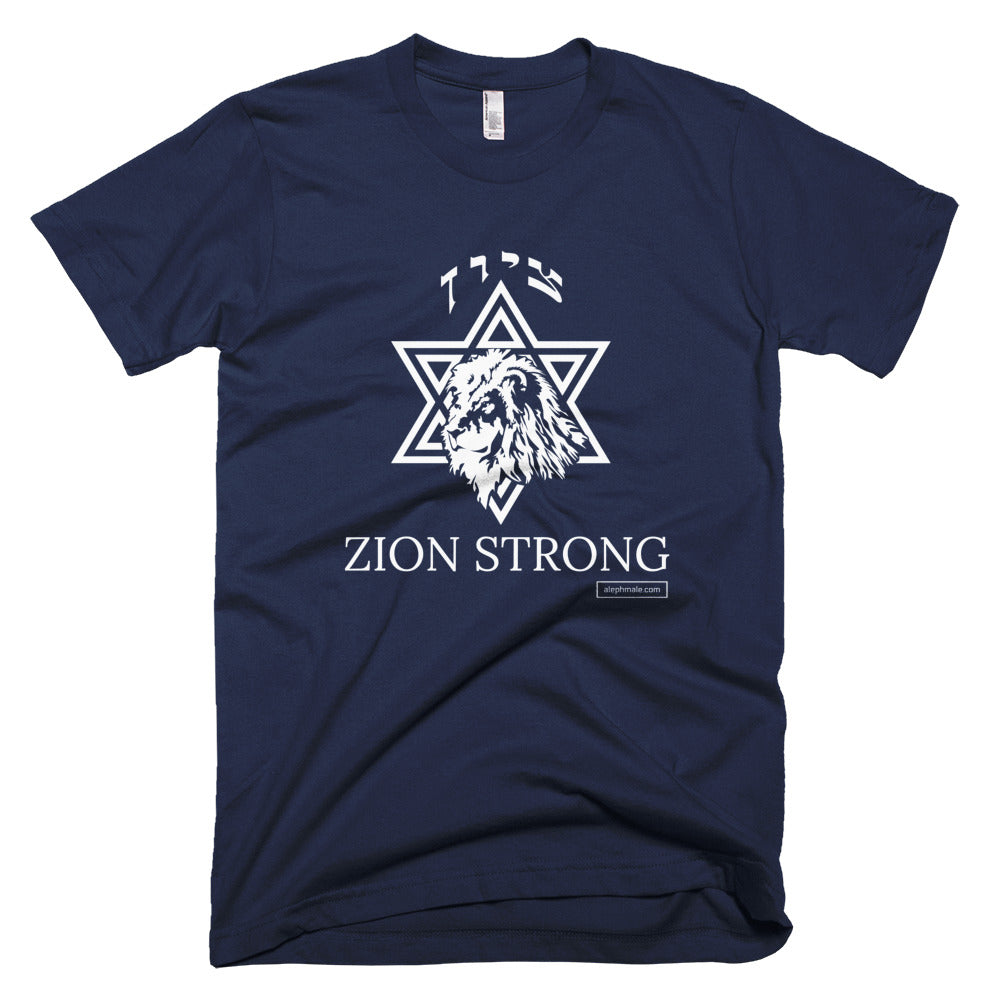 Aleph Male: Zion Strong T- Shirt