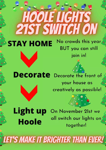 Hoole Lights 21st Switch On