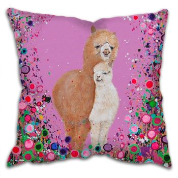 Alpacas Cushion