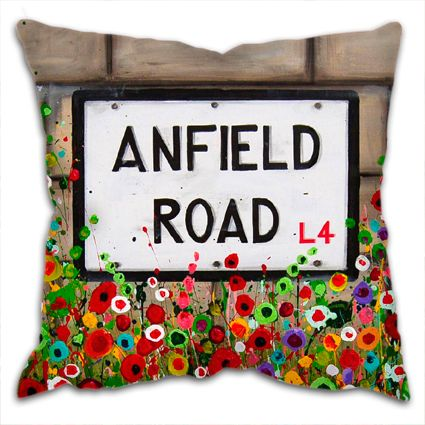Anfield Road Cushion
