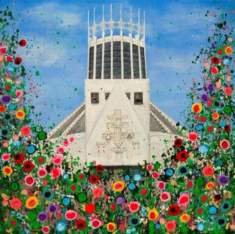 Catholic Cathedral, Liverpool, Canvas Print