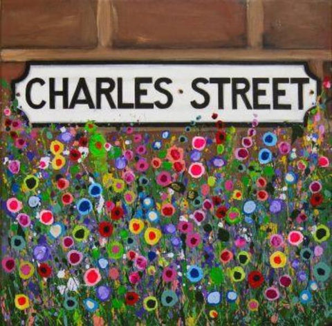 Charles Street, Hoole, Chester, Print