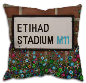 Etihad stadium cushion