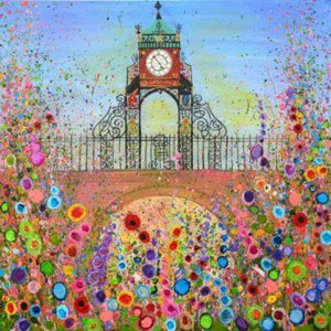 Eastgate Clock, Chester, Canvas Print