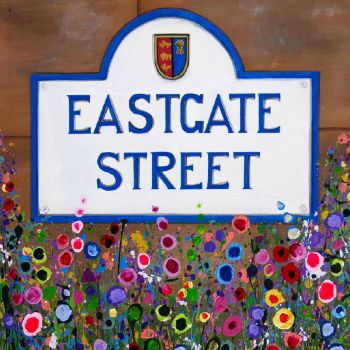 Jo Gough Art Eastgate Street, Chester, Print